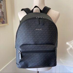 NWOT Michael Kors Cooper Backpack Black 37U9LCRB3B